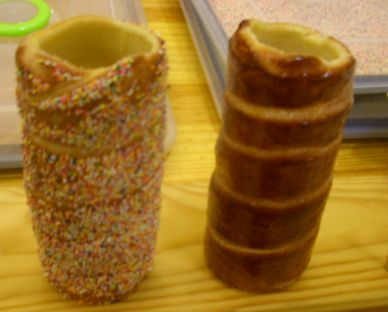Transylvanian Hungarian Chimney Cakes - how exotic is that?