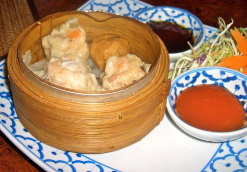 Tasty dim sum is one of our favourite starters