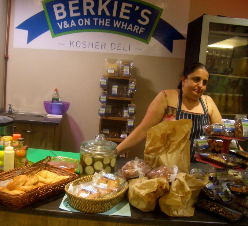 Loads of kosher food to choose from at Berrie's