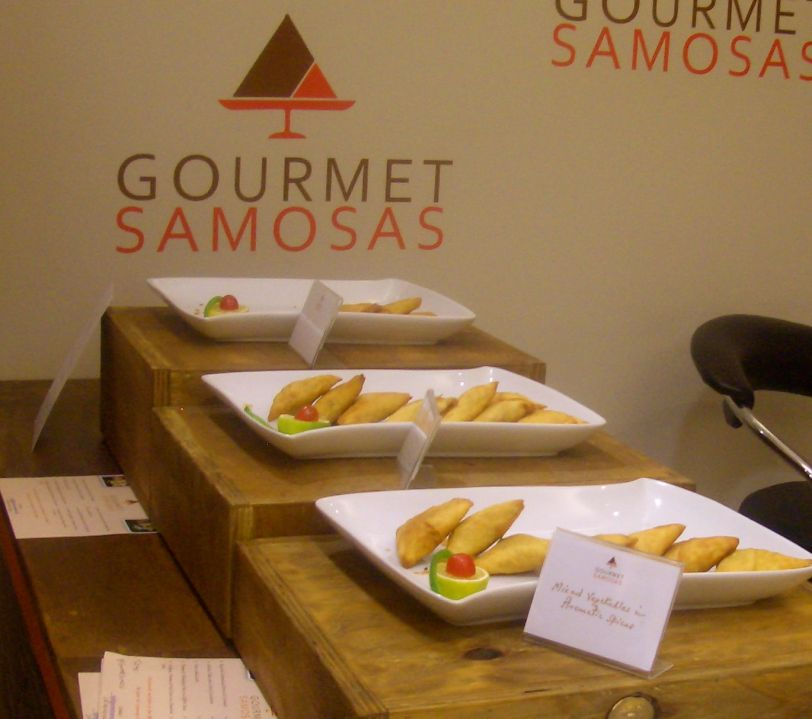 Tasty gourmet samosas that are freshly made