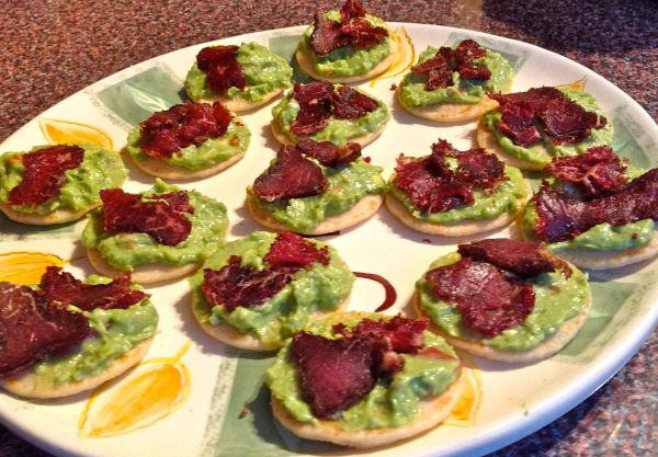 A platter of fabulous canapes that your guests will love