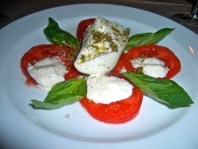 The most delicious of caprese salads