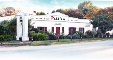 Peddlars in Constantia is on the bend as it's name implies