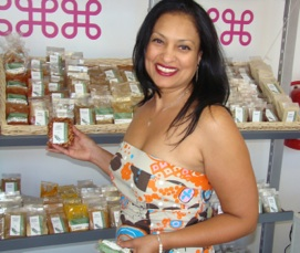 Pop in for some spices and advice from Raziyah