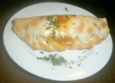 A classic empanada with hand cut beef, potatoes and onions