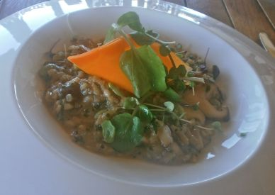 Amazing duck risotto with Asian flavours