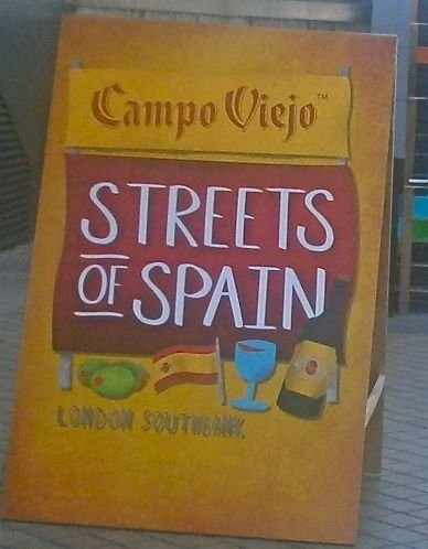 The Streets of Spain in the middle of London