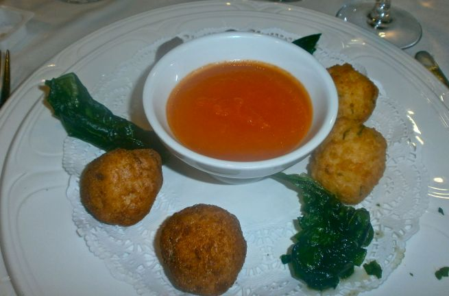 A selection of croquettas