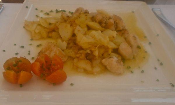 Beautiful garlic chicken