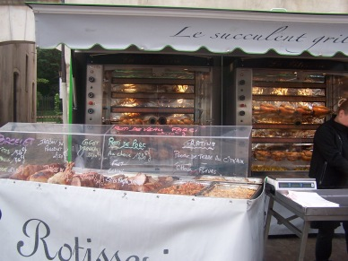 The rotisserie - the aromas alone are impossible to resist