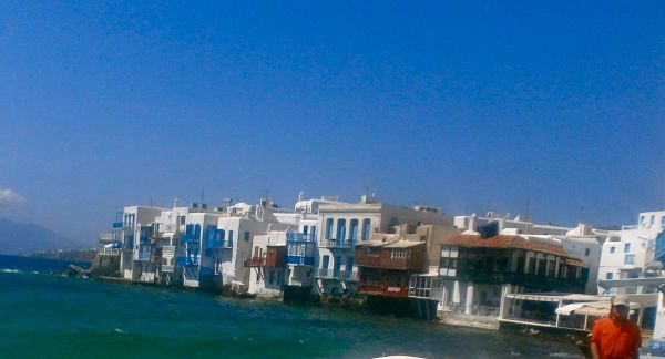 Beautiful Little Venice in Mykonos