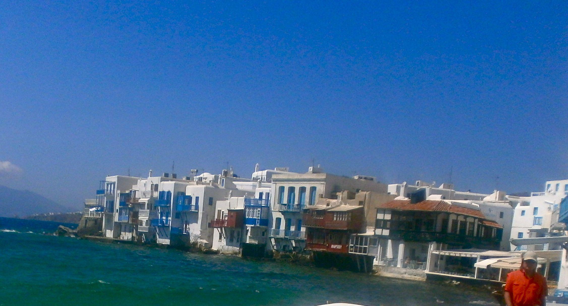 Beautiful Little Venice in Mykonos