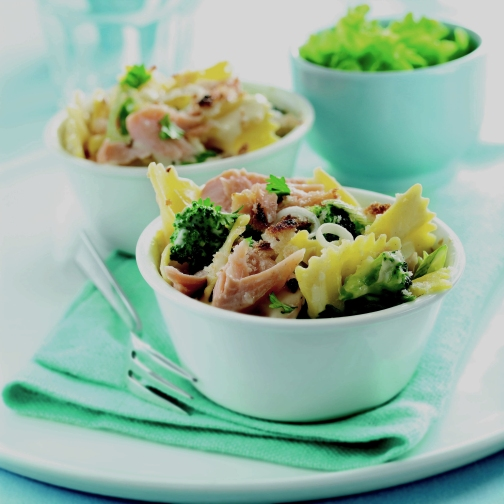 Trout & Brocolli Pasta
