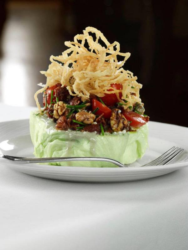 Iceberg Lettuce Wedge Salad