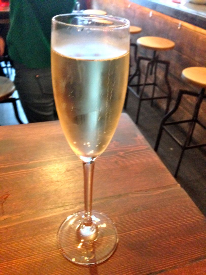 Happiness is a perfectly chilled glass of Cava