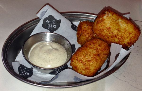 Crispy croquettes with a wonderfully creamy filling