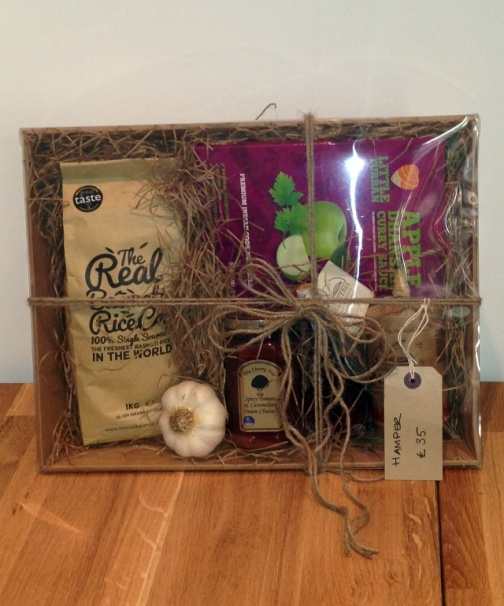 Treat friends to a special hamper for Christmas