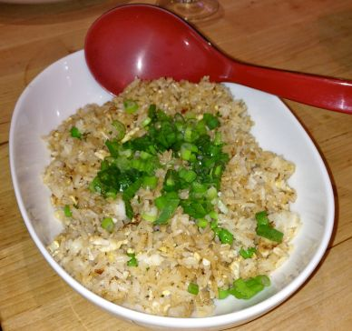 Tasty egg-fried rice