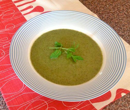 The amazingly rich soup