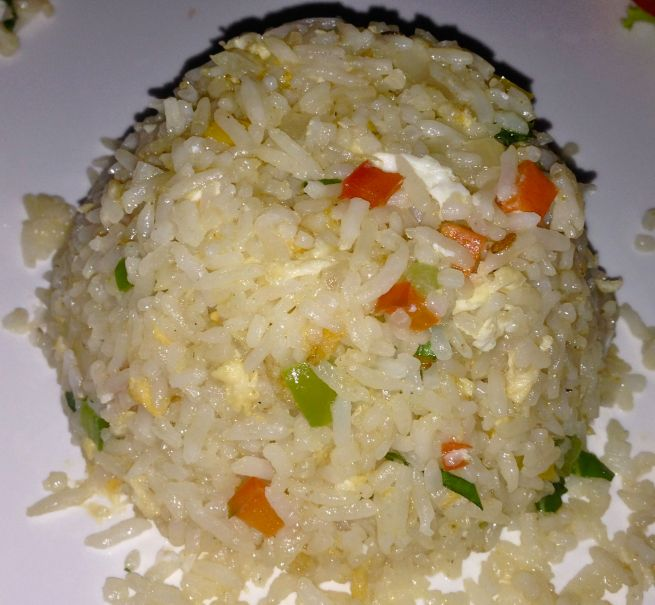 The tastiest of vegetable fried rice